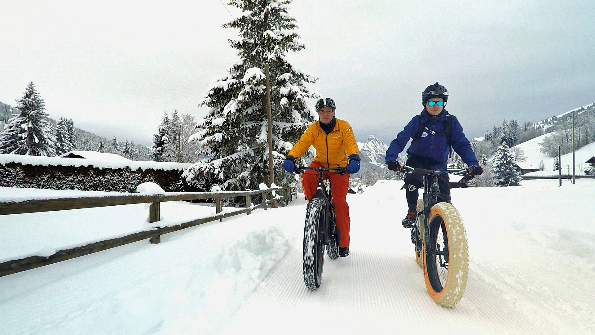 Jeff and fat bike instructor